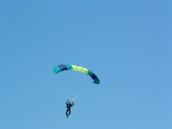 Fallschirmausrüstung - Fallschirm